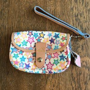 Dooney & Bourke Star Wristlet Wallet Leather